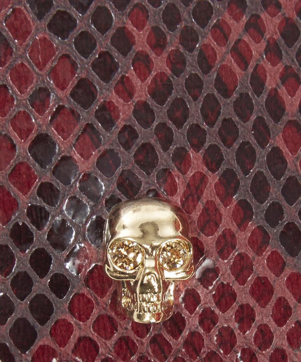 Python Small Skull Cardholder