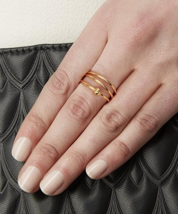 Helix Trapeze Ring