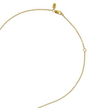 Gold-Plated Helix Necklace