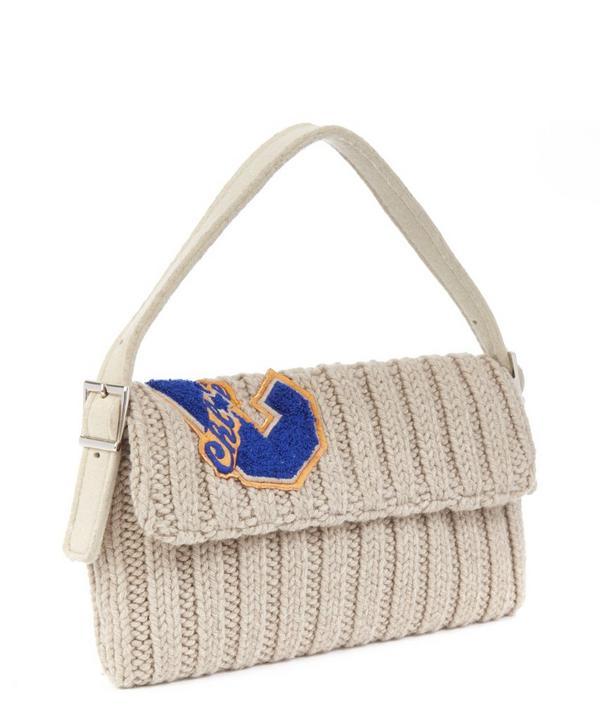 Chloe Wool Knitted Shoulder Bag