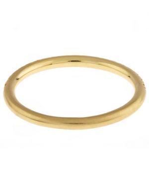 Gold London Diamond Band Ring