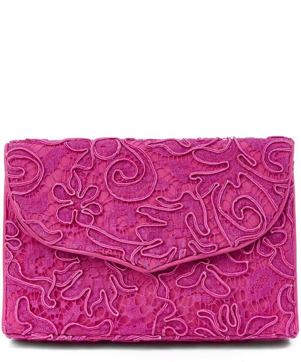 Catherine Walker Corded Lace Clutch Bag