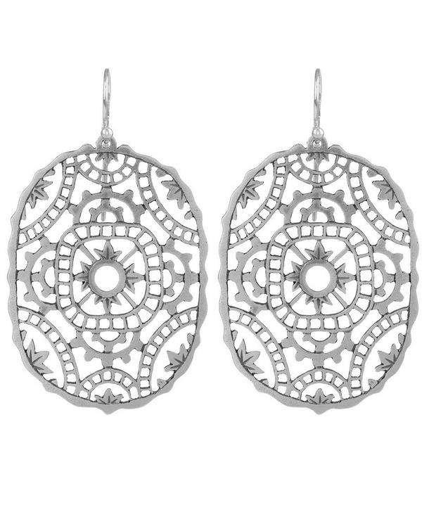 Silver Tombolo Earrings