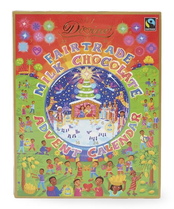 Fairtrade Milk Chocolate Advent Calendar