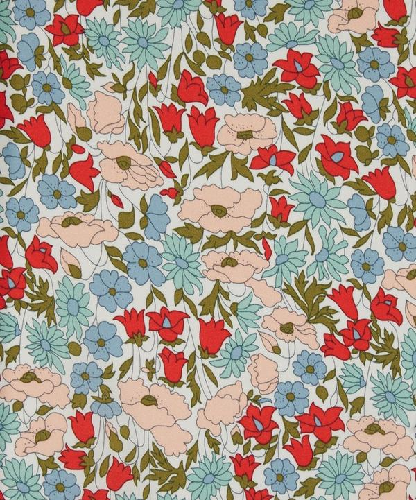 Poppy and Daisy Print Belgravia Silk Satin