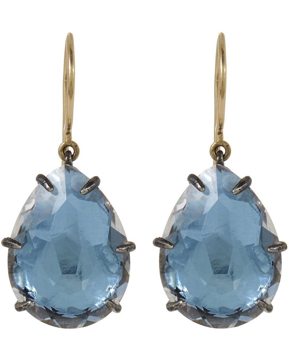Caterina Quartz Drop Earrings