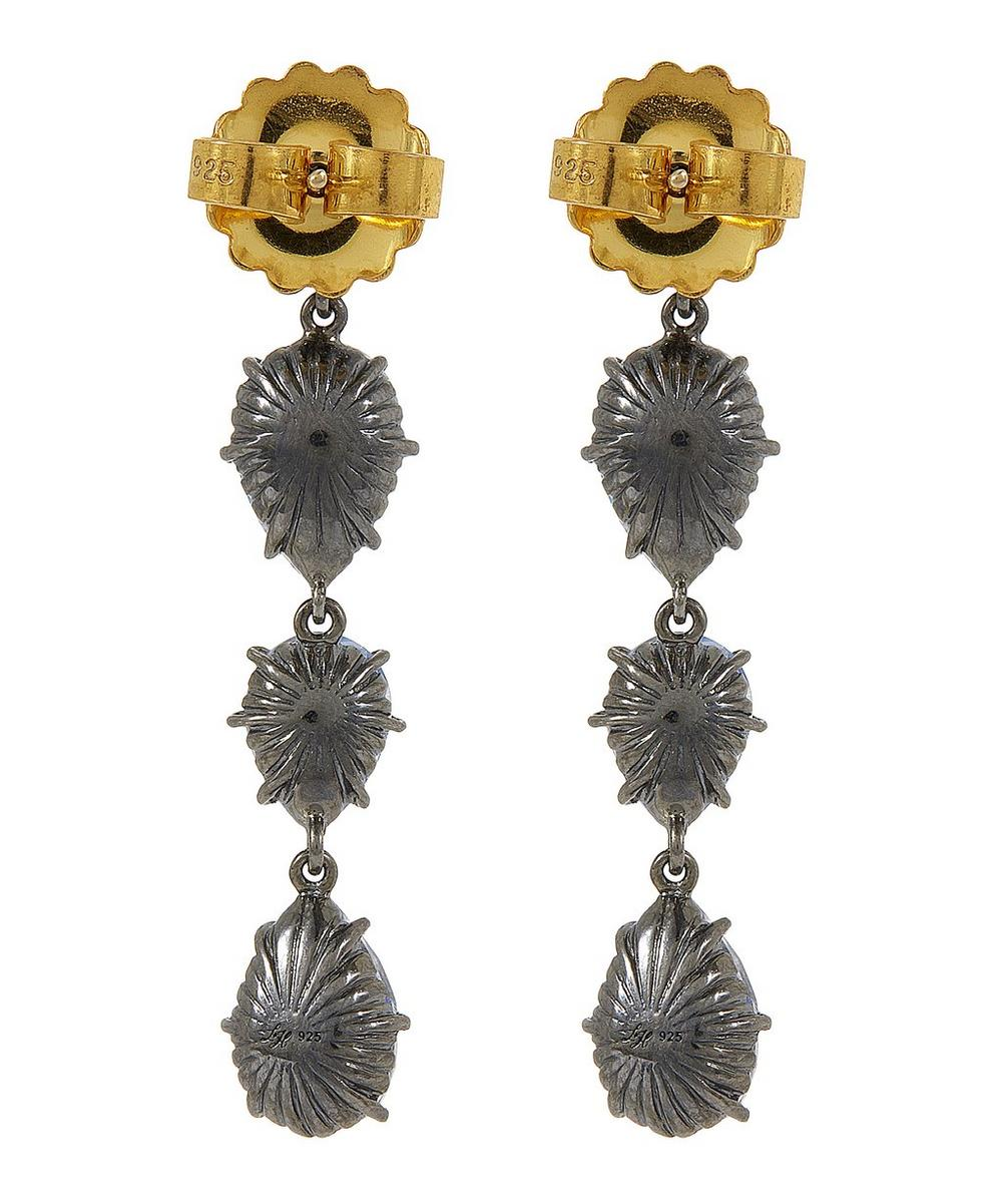 Caterina Single Cascade Earrings