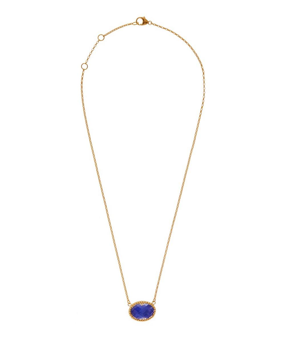 Lily Solitaire Necklace