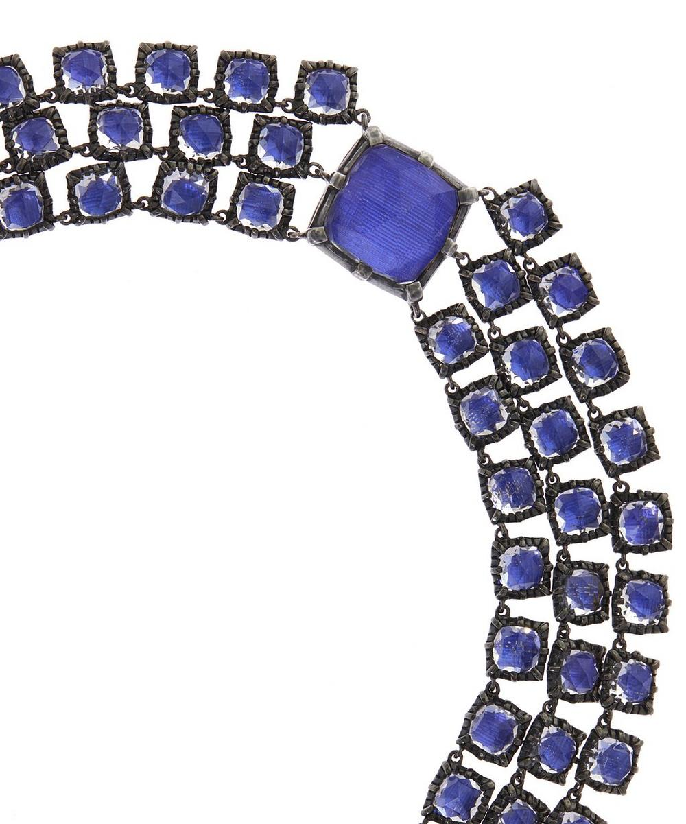 Bella Three Strand Riviere Necklace