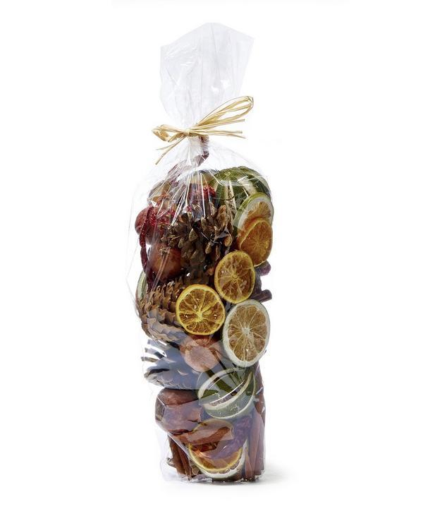 Pollyfield Christmas Potpourri Fruit Bag