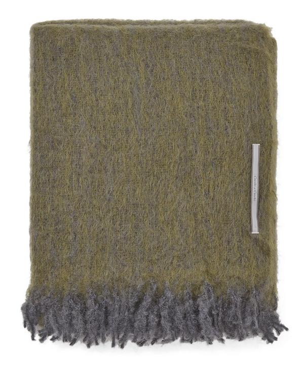 Spray Mohair Throw
