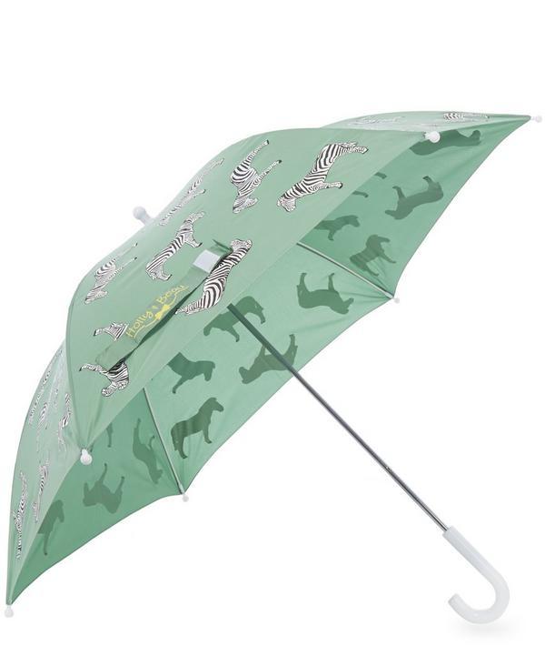 Zebra Colour Changing Umbrella