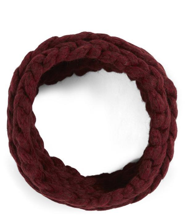 Alpaca Knitted Collar