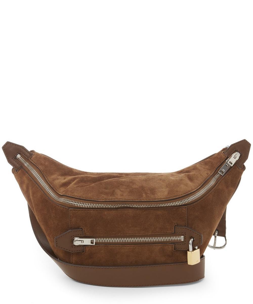 Nubuck Padlock Bum Bag