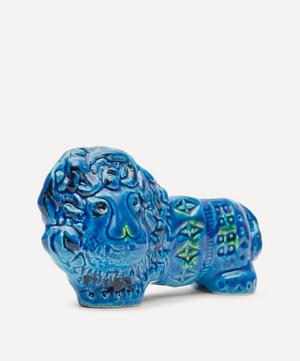 Rimini Blu Ceramic Lion Figure