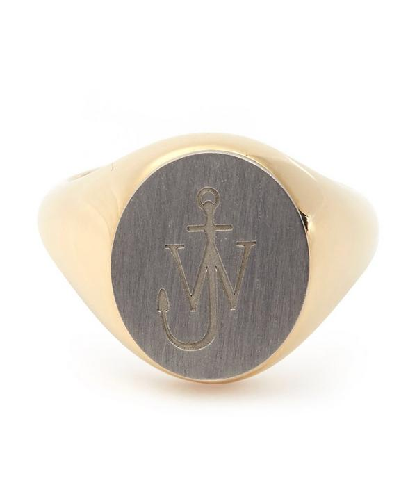 J.W. Anderson Small Signet Ring
