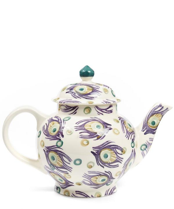 Peacock Four Cup Teapot