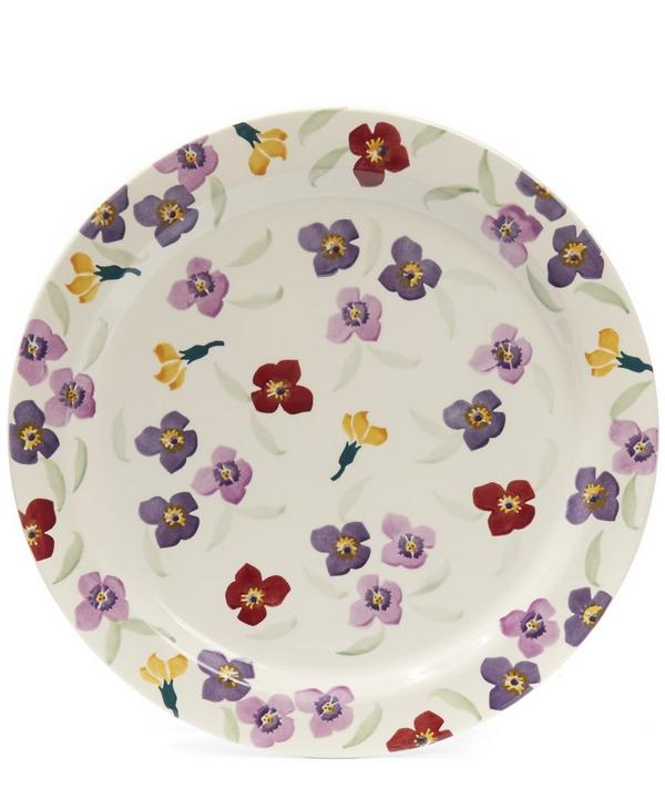 Wallflower Cake Plate