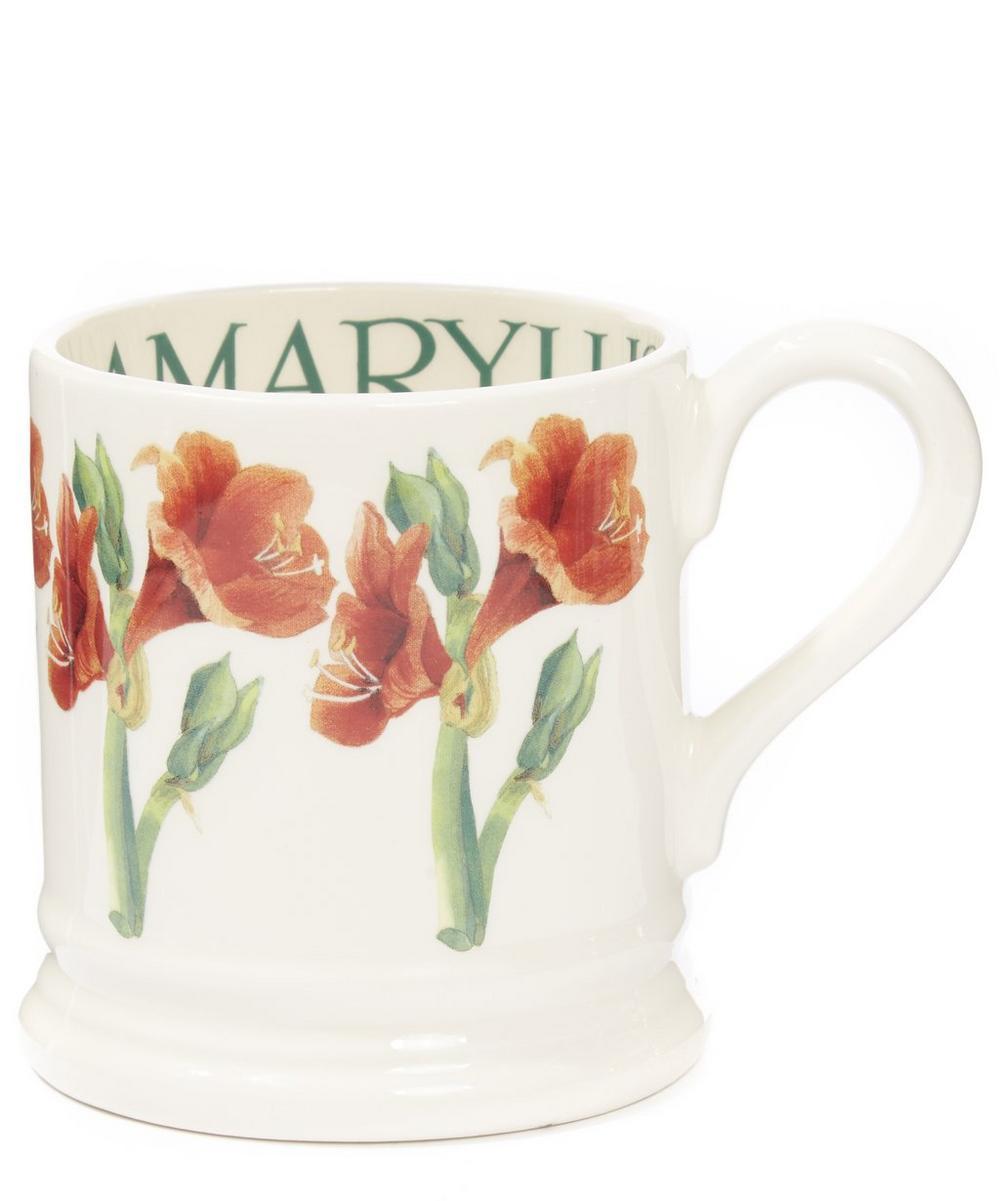Amaryllis Half Pint Mug