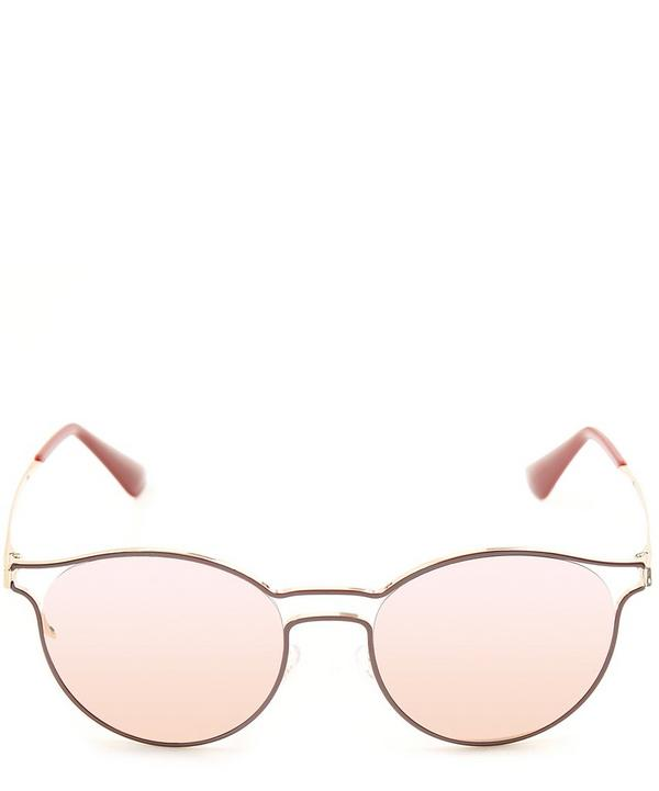 Thin Oval 53 Sunglasses