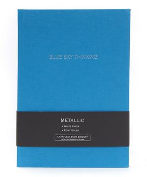 Blue Sky Thinking Linen Cover Notebook