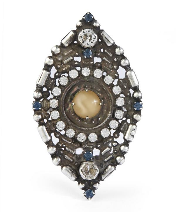 Diamond-Shaped Eris Cocktail Ring