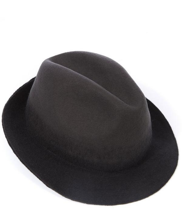 Degrade Wool Trilby Hat