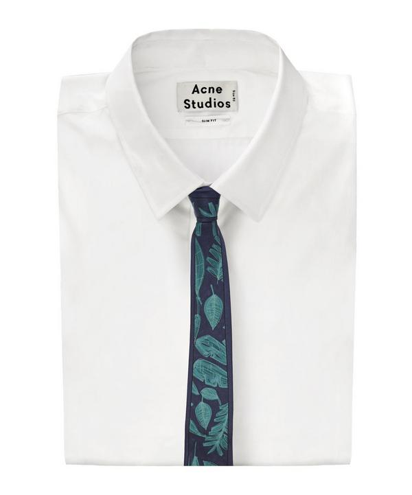 Abstract Palm Print Tie