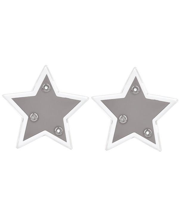 Shooting Stars Clip Earrings