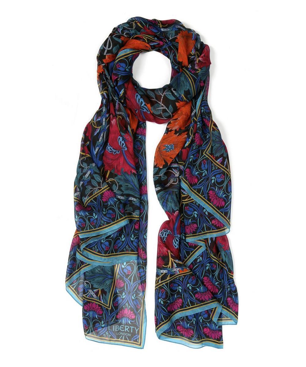 Canterbury Silk Chiffon Scarf