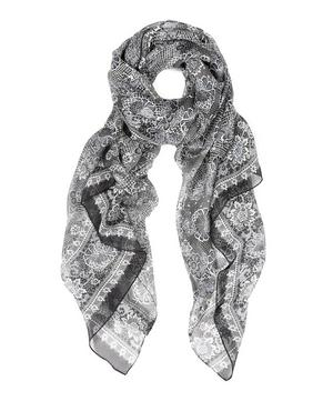 Harmony Silk Chiffon Scarf
