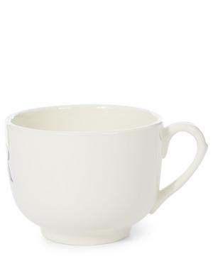 Cream Father Earthenware Cup