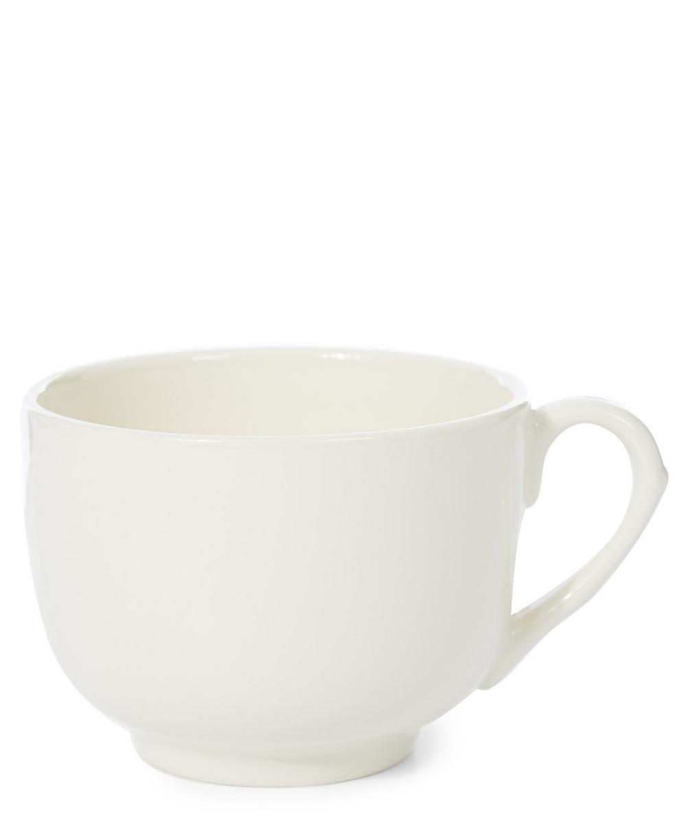 Cream Honey Earthenware Cup
