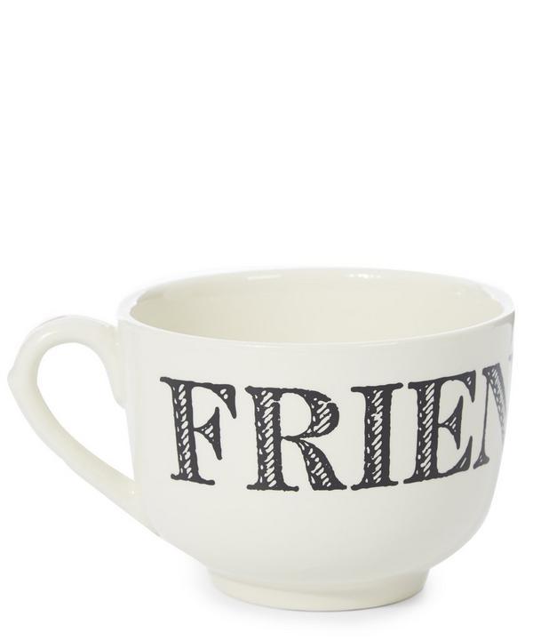 Cream Friend Earthenware Cup