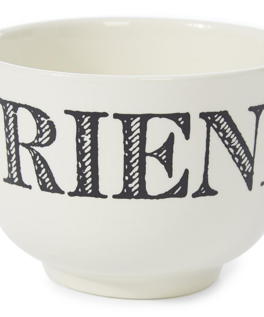 Cream Friend Earthenware Cup