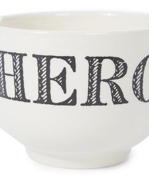 Cream Hero Earthenware Cup