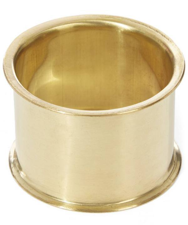 Mother Brass Napkin Ring