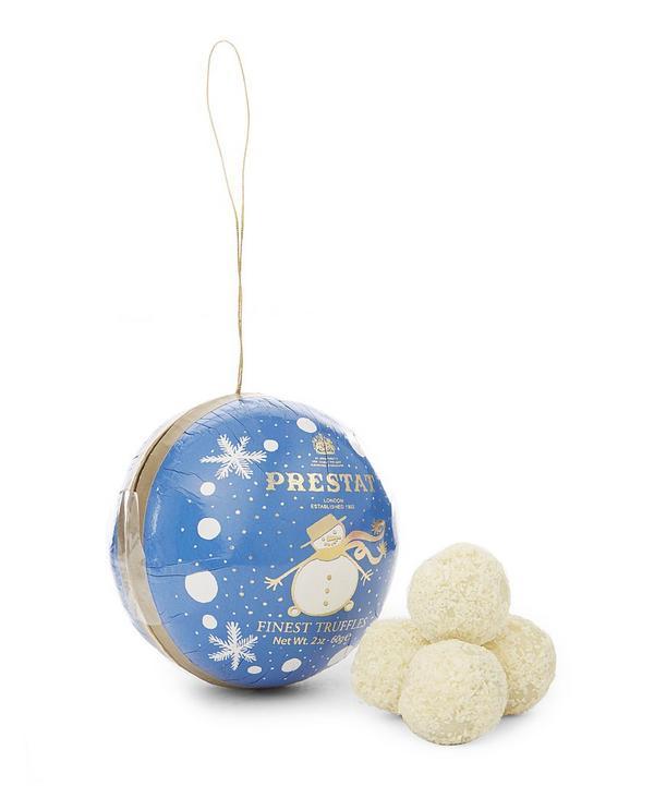 Snowman Bauble Truffle Set