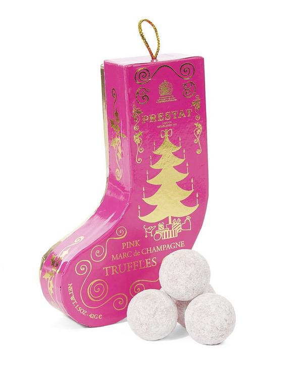 Pink Champagne Stocking Box