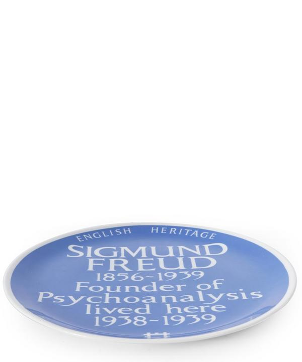 Blue Plaque Sigmund Freud Plate
