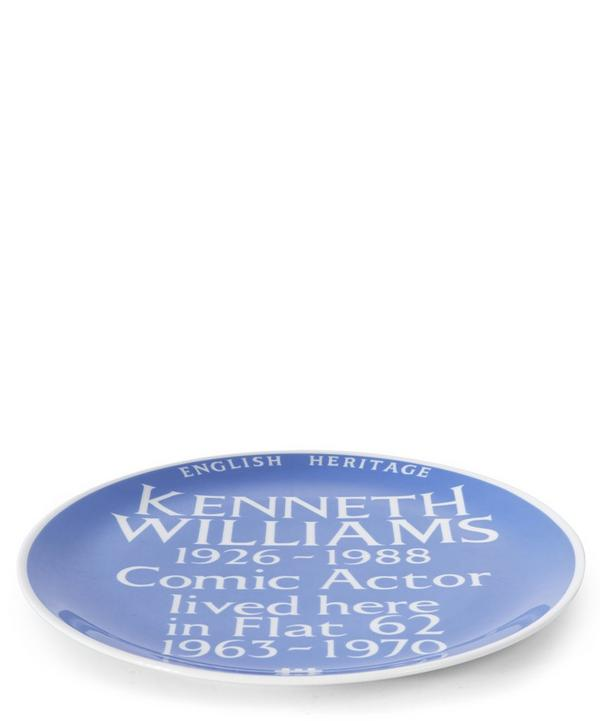 Blue Plaque Kenneth Williams Plate