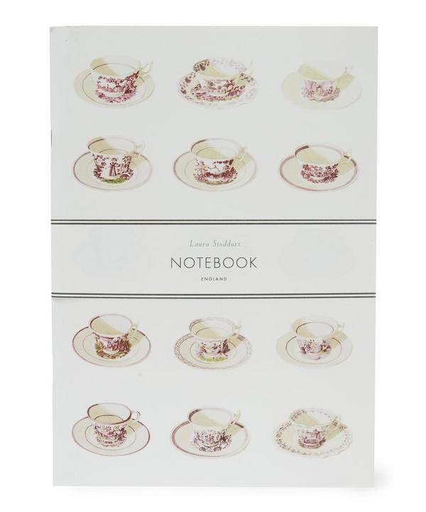 Tea Cup A4 Ruled Notebook