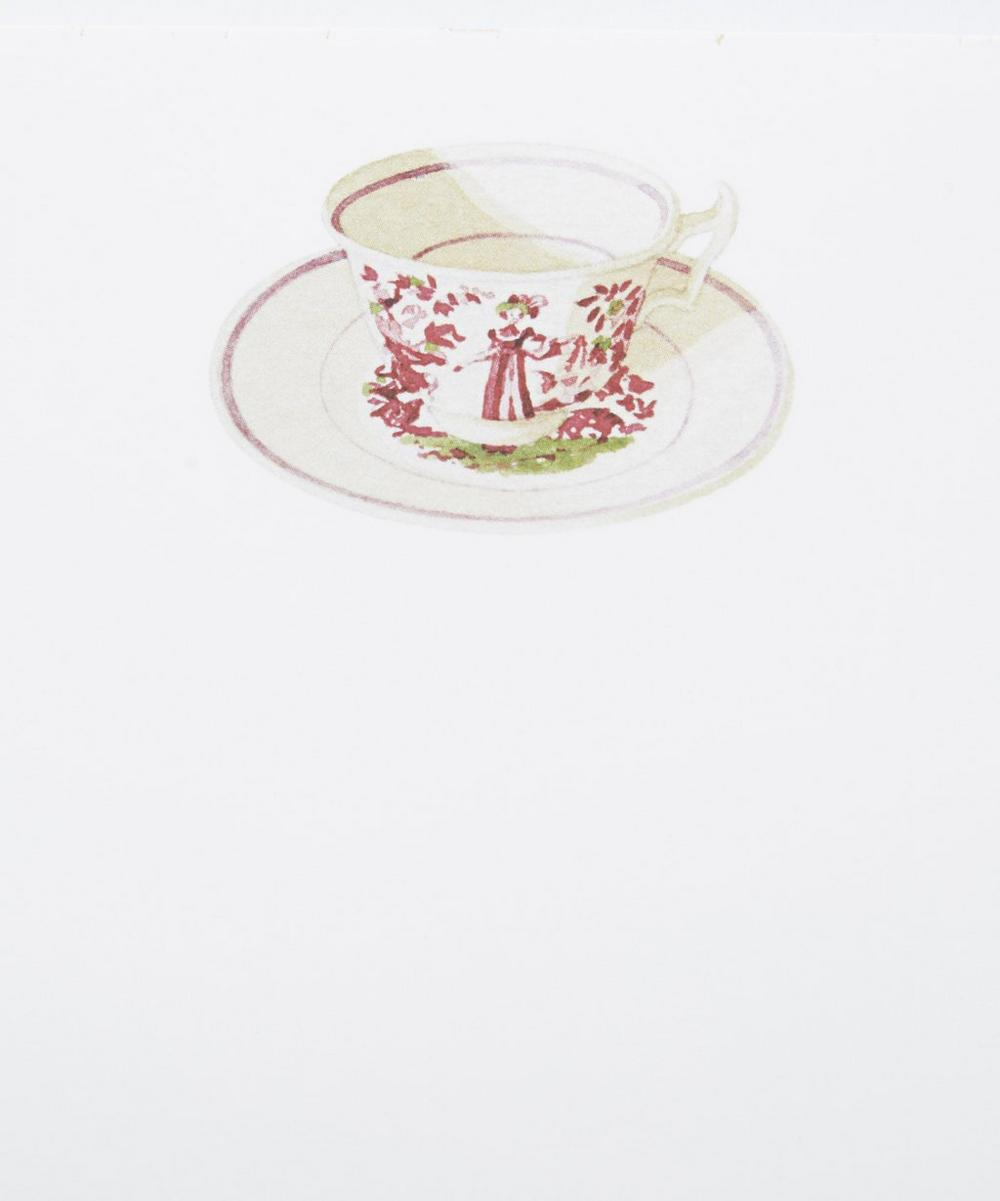 Tea Cup Shopping List Pad