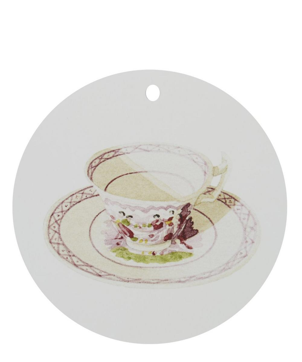 Set of 12 Tea Cup Gift Tags
