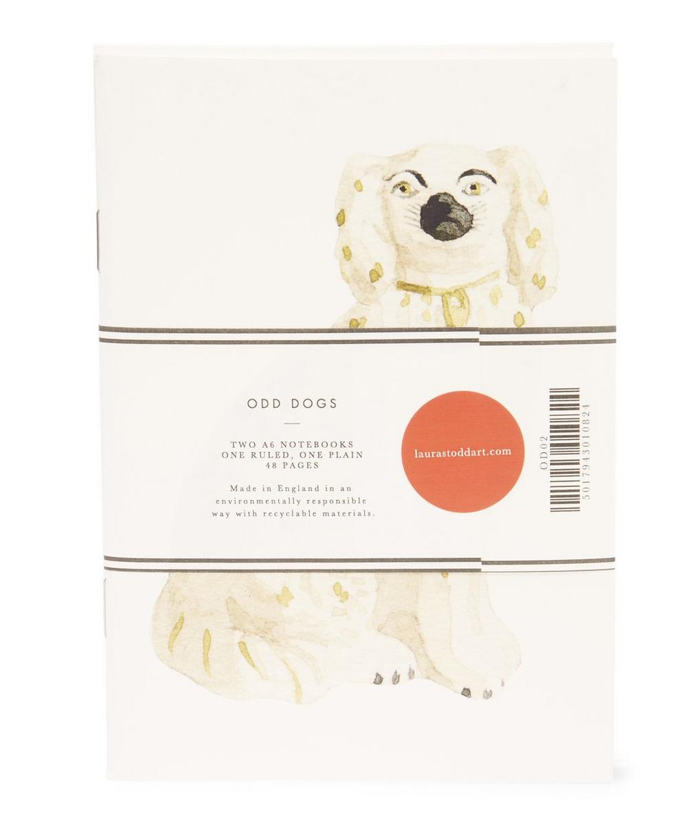 Set of 2 Odd Dogs A6 Notebooks