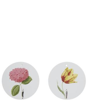 Set of 12 Flower Gift Tags