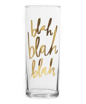 Blah Blah Blah Highball Glass
