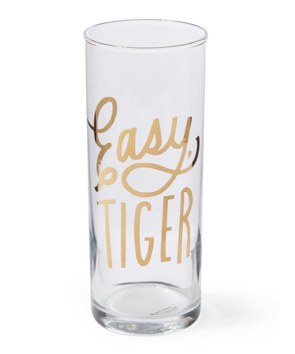 Easy, Tiger Highball Glass