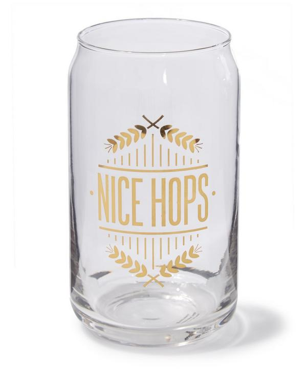 Nice Hops Can Glass