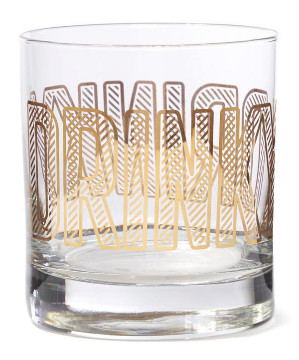 Drinky Lowball Glass